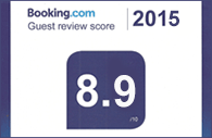 Rated 8.8 on Booking.com