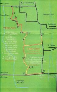 Ancient Treks Map