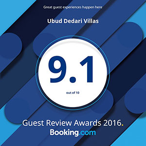 Rated 9.1 on Booking