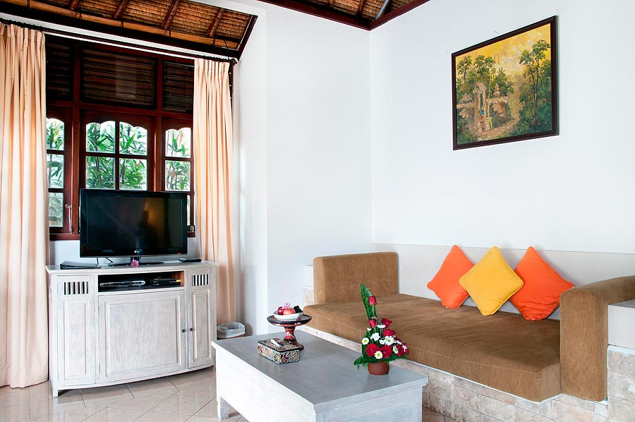 Dedari Villa lounge room