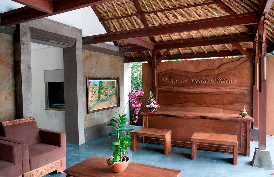 Ubud Dedari Villas' new lobby