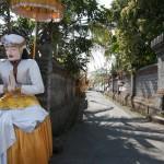 Ubud Dedari entrance road